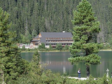 štrbské Pleso, Lake, Youth, The High Tatras, Rocks