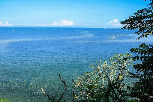 Sea, Landscape, Nature, Ocean, Sky, Water, Sun, Summer