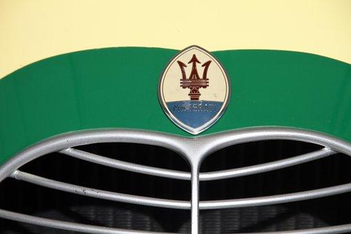 Maserati, Radiator Grill, Goodwood Festival, Vintage