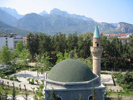 Turkey, Antalya, Mosque