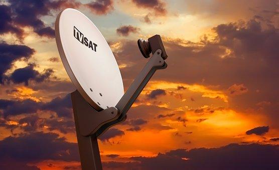 Media, Network, Information, Tv, Equipment, Parabolic