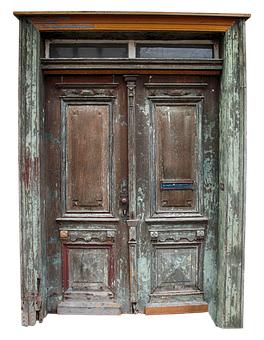 Door, Oak, Middle Ages, Ornament, Ornaments, Old Town