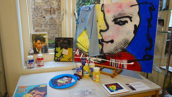 Painting, Herman Brood, Painter, Famous