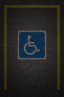 Vacancy Deficient, Parking Lot, Vacancy In A Wheelchair