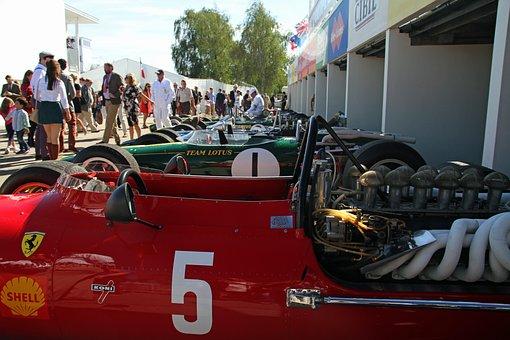 Goodwood Festival, Vintage, Race, Classic, Vehicle