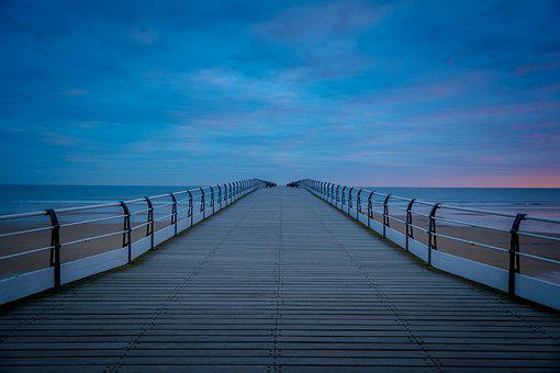 Saltburn, First Light, Sunrise, Seascape, Pier