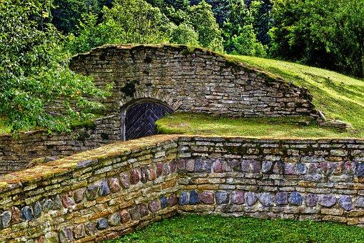 Dry Stone Wall, Keller, Storage Cellar, Stone Wall