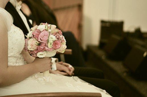 Wedding, Bridal Bouquet, Wedding Bouquet, Marry