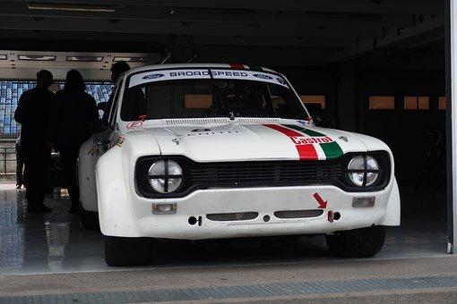 Ford, Escort, Classic, Race, Car, Sport, Oldtimer