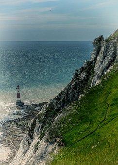 Lighthouse, Ocean, Sea, Coast, Marine, Nautical, Beacon