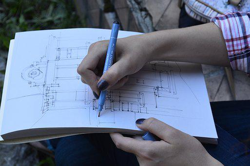 Figure, Draft, Sketch, Process, Drawing, Brush, Creator