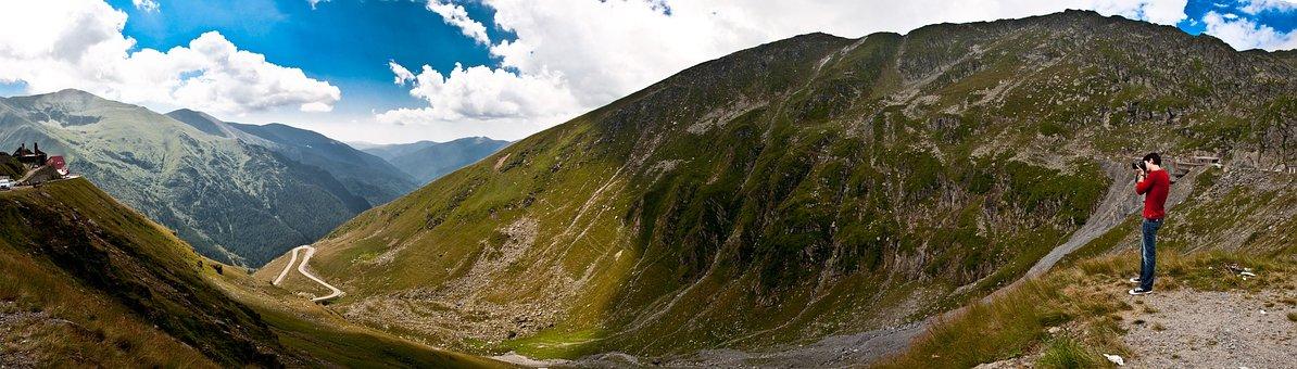 Romania, Fagaras, Panorama, Landscape, Nature