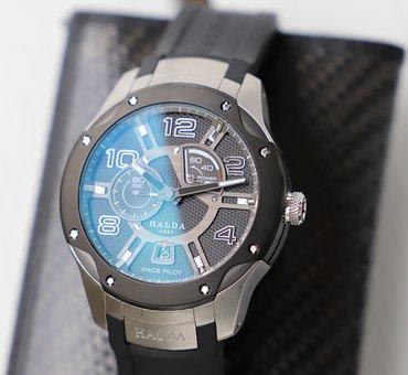 Watch, Modern, Halda, Wristwatch