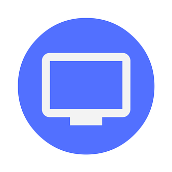 Icon, Monitor, Desktop, Cloud, Data, Online, Internet