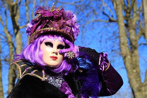 Carnival, Costume, Disguise, Mask, Festival, Venetian