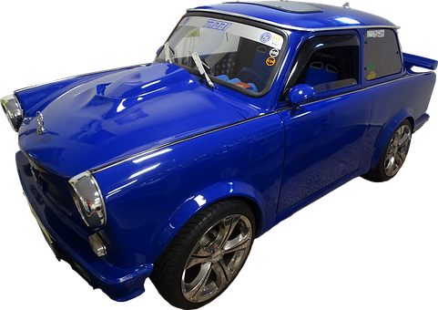 Auto, Trabant, Trabi, Automobile, Tuning, Metallic
