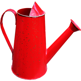 Watering Can, Red, Garden