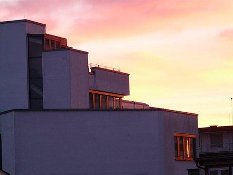 Sunset, Sky, Clouds, Abendstimmung, Sun, Romance, Fire