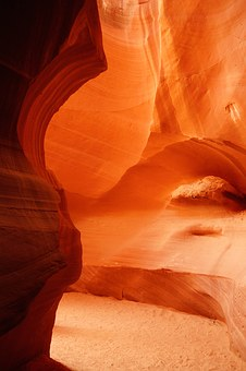 Page, Antelope, Slot Canyon, Usa, Gorge