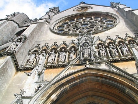 Abbey, Aisle, Arc, Arch, Architecture, Art, Artwork