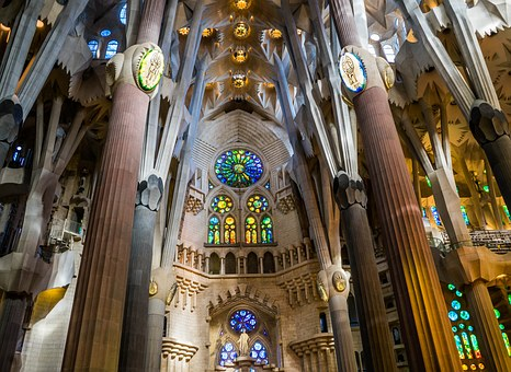 Sagrada Familia Cathedral, Barcelona, Spain