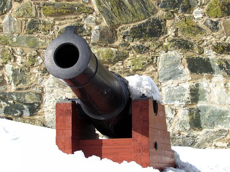 Cannon, Civil War, Antique, War, History, Battle, Gun