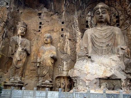 Cave Of The Great Buddha, 493 Years After Jc