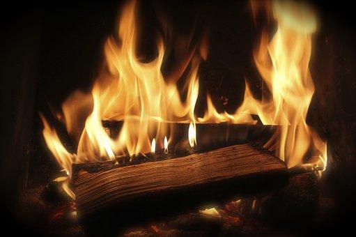 Fire, Wood Fire, Combustion, Heat