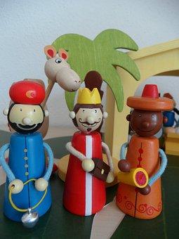 Crib, Figures, Holy Three Kings, Kings