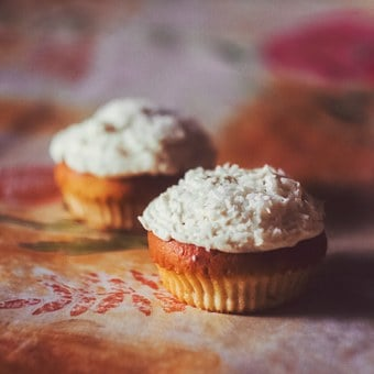 Dessert, Cupcake, Cupcakes, Confectionery