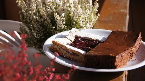 Cake, Sweet, Erica, Jam, Chocolate, Pustertal