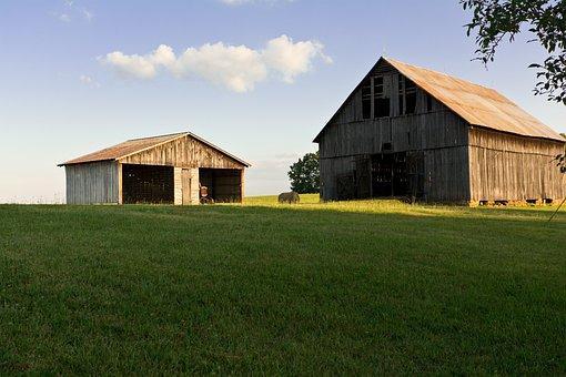 Barn, Country, Farm, Rural, Farmland, Agriculture