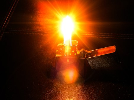 Lighter, Glow, Fire, Hot, Heat, Burn, Bright, Energy