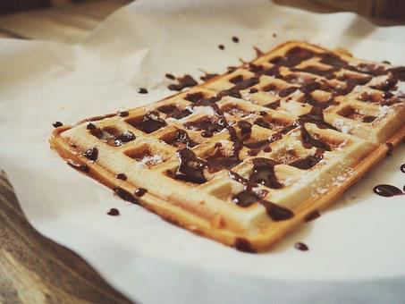 Wafer, Dessert, Baking, Food, Paste Products, Delicious