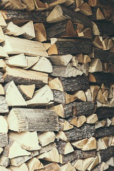 Wood, Log, Firing Hold, Stack, Holzstapel, Firewood