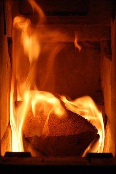 Fire, Logfire, Home, Wood, Burn, Burning, Fireplace