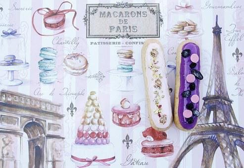 Paris, Food, Table, Kitchen, Krupnyj Plan, Nutrition