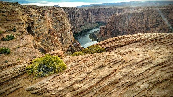 Colorado River, Marble Canyon, Arizona, Page, Lamdscape