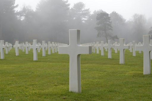 Cemetery, American Cemetery, Landing, D Day