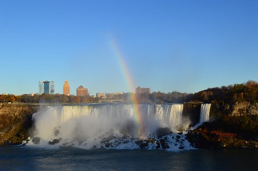 American Falls, Rainbow, Niagara Falls, Waterfalls