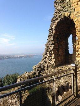 Castle, Scarborough, England, North Yorkshire, Medieval