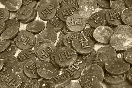 Coins, Old, Ancient, Indian, Historic, Antique