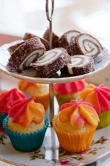 Cupcake, Miniature Food, Pastry, Cake, Dessert, Food