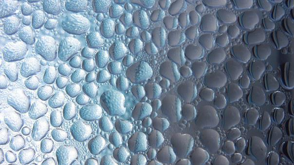Drop Of Water, Condensation, Pattern, Water, Drip, Tiny