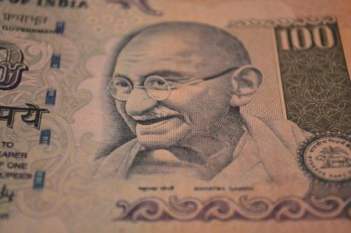 Rupees, Banknote, Mahatma Gandhi, Money, Currency