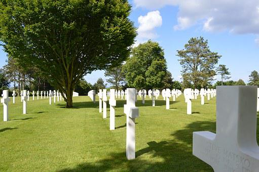 American Cemetery, Normandy, France, Second World War