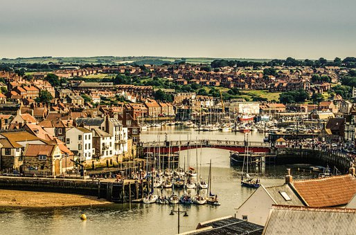 Coast, Town, City, Abbey, Seaside, North, Seafront