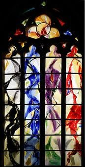 Church Window, Liege, Cathedral, Trinity, Liège