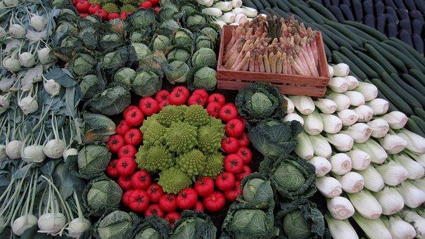Vegetables, Fennel, Asparagus, Broccoli, Cabbage