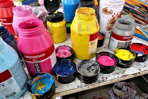 Color, Oil Paints, Artistic, Paint, Painting, Colorful